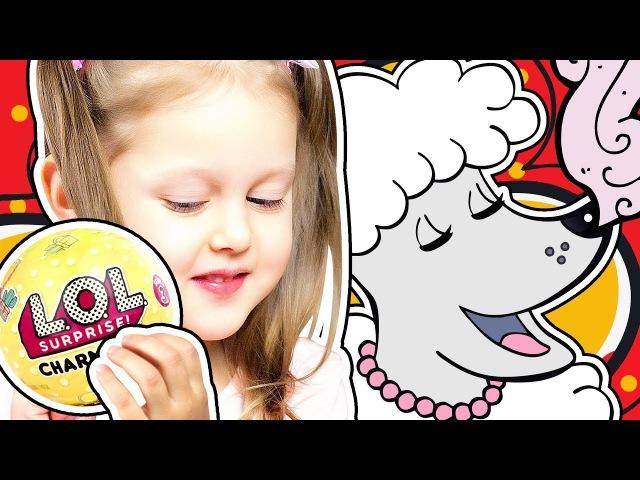 МИННИ МАУС Питомец Минни имеет супер нюх и ищет ЛОЛ Щенок заболел Идем к Доктору Плюшевой Kids Video
