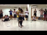 Kizomba demo Morenasso & Adi Baran at I Kiz Rio Congress 2017