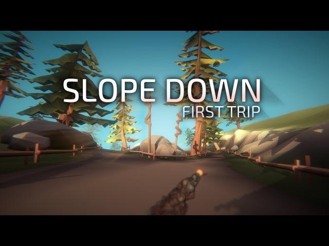 Slope Down: Первое Путешествие - Релизный Трейлер
