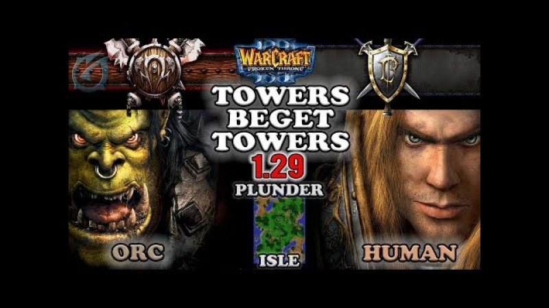 Grubby | Warcraft 3 The Frozen Throne | OR v HU - Towers Beget Towers - Plunder Isle