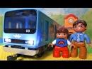 Поезд Метро - Игрушки для мальчиков - Видео про поезда для детей