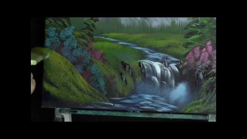 Mountian Falls - Painting Lesson