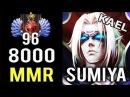 A NEW LEGEND IS BORN SumiYa 8000 MMR TOP 100 China Destroy All TI Winner True Invoker God Dota 2