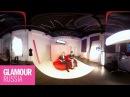 Влог редакции рабочий день видеоредактора журнала Glamour в формате 360 VR