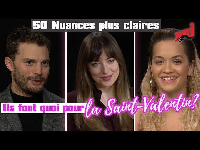 50 Nuances plus claires que vont faire les acteurs pour la Saint Valentin NRJ