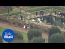 Волшебный момент Съёмки с вертолета Гарри и Мегана сверху - Daily Mail