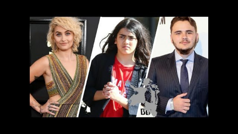 Michael Jacksons kids Daughter Paris Jackson Sons prince jackson Blanket Jackson 2017