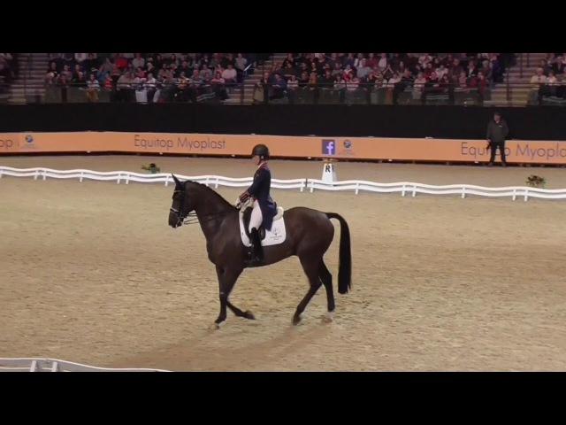 Charlotte Dujardin Liverpool International Horse Show 2017 En Vogue 78.6%