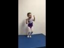 После тренировки 🏃🏾♀️ гимнастка 🤸♀️