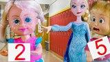 ЭЛЬЗА ЗАМОРОЗИЛА ДВОЕЧНИКОВ! Мультики Барби, школа. анна frozen 2 часть 2 холодное сердце мультфильм халодное