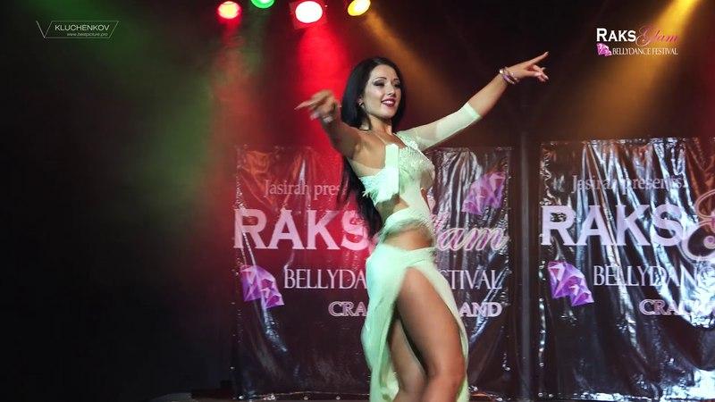 RAKS GLAM FESTIVAL 2017 - Yana Kruppa - baladi