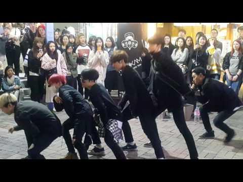[Maxxam 댄스팀 맥스] Psy ☆Gentleman☆ 커버안무 홍대댄스버스킹 20170419수 [Korean Hongdae Kpop Dance Busking]