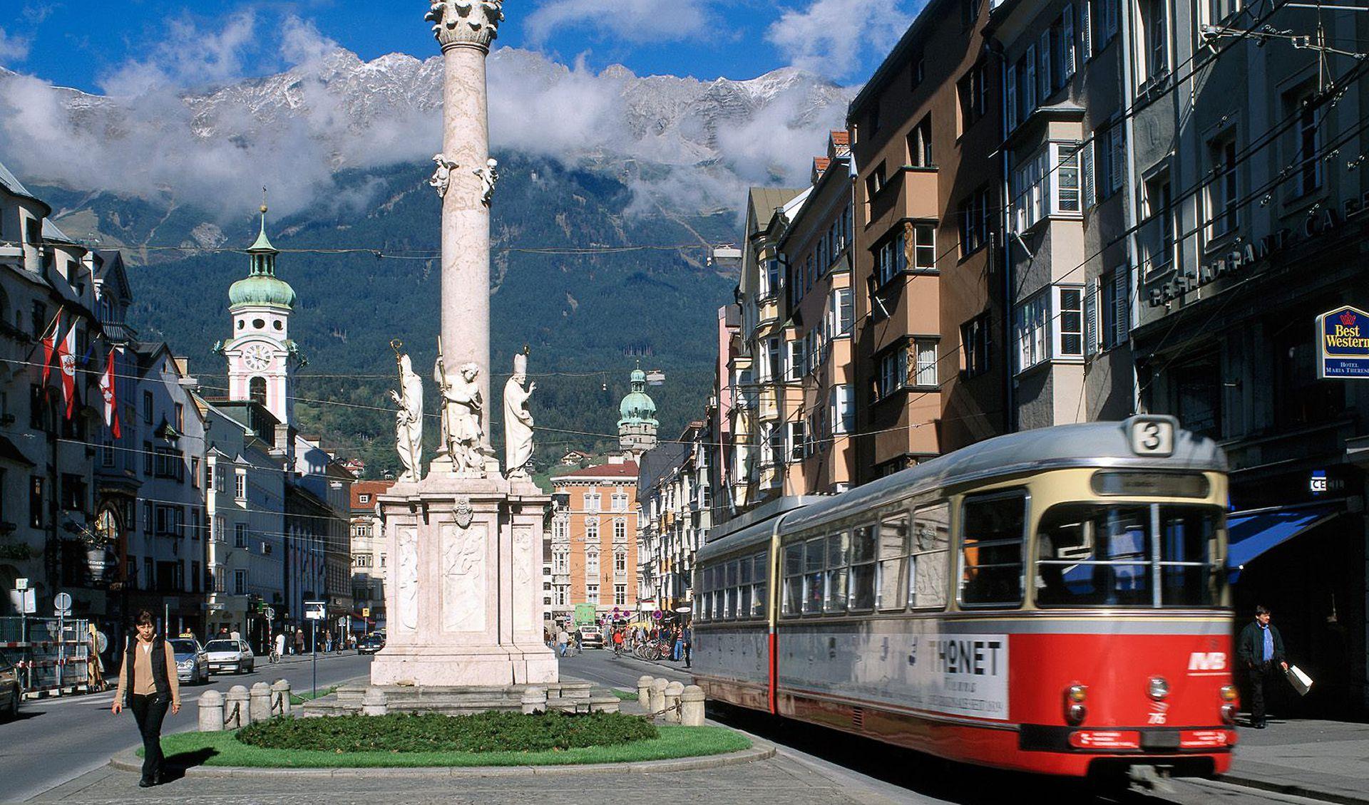 Историческая часть Инсбрука