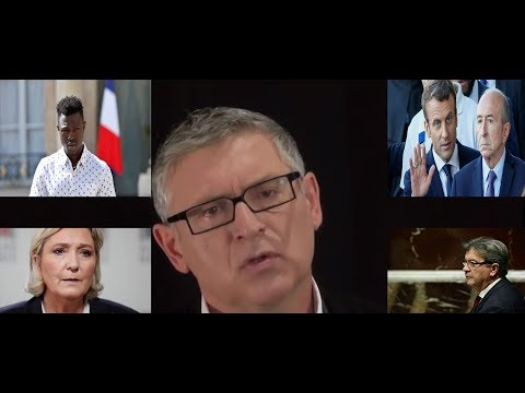 M. Onfray Décrypte Durement la Reprise Médiatique de Macron Avec Mamoudou Gassama 0706