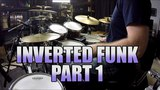 Drum Lessons - Inverted Paradiddle Funk Beat - Part 1