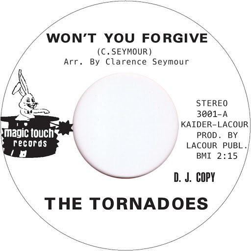 The Tornadoes альбом Won't You Forgive
