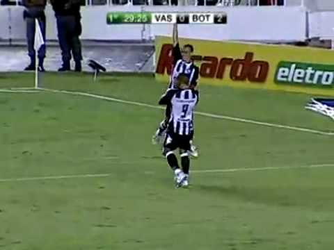 BOTAFOGO 4X0 vasco Semi-Final Taça RIo 2009
