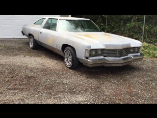 1974 Chevy Impala Lowrider project Glasshouse