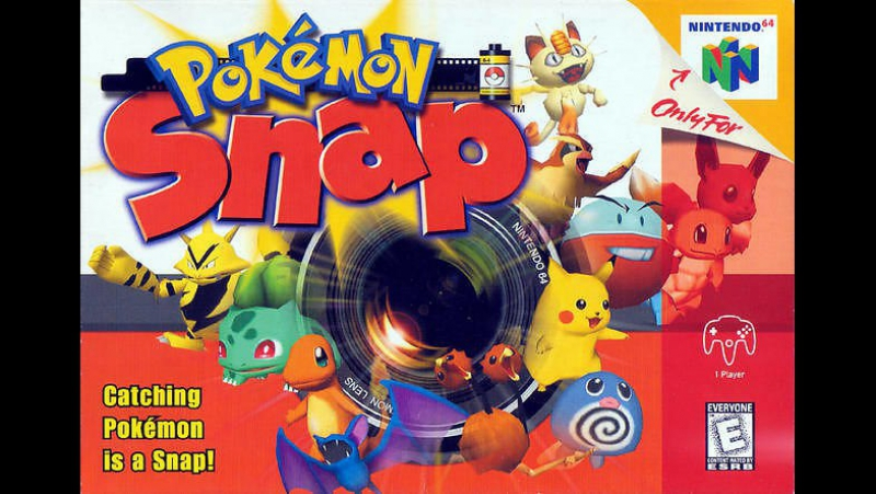 Прохожу Pokemon Snap (Nintendo 64)
