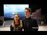 Behind the scenes at Riverdance on 20th anniversary (Riverdance lead dancers Brendan Dorris and Chloey Turner )