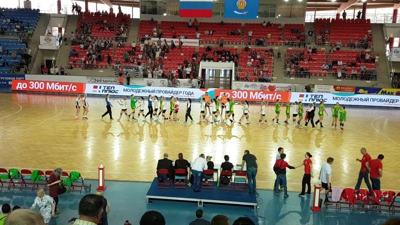 Последние секунды... и ГК Астраханочка - бронзовый призёр.