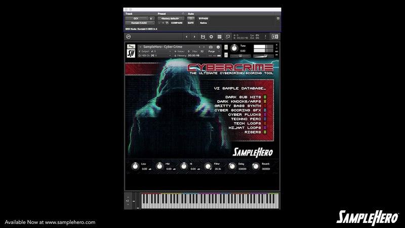 SampleHero - CyberCrime Walkthrough Video