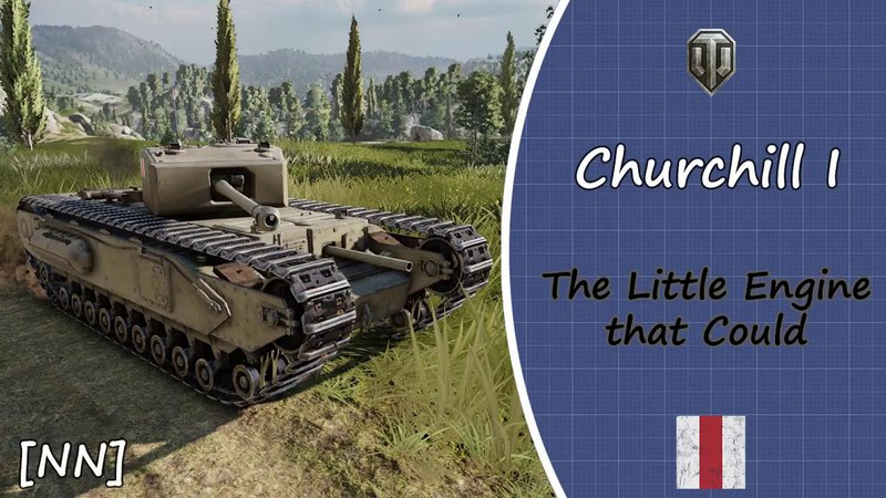 [WOT PS4] Churchell I. The Little Engine that Could Ace Tanker With Music