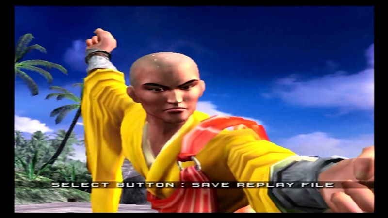 PS2 Passthrough Xbox One X 4k TV Virtua Fighter 4 Lei Feng Arcade