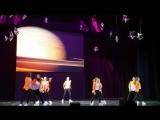 Отчетный концерт у дочки Flash Dance