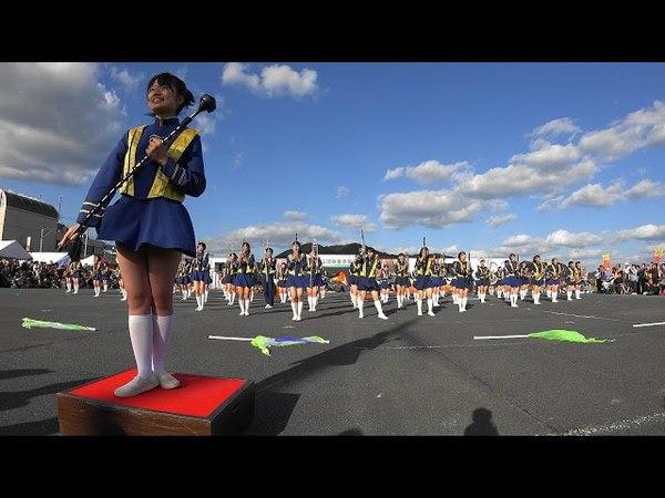 [4K]第34回大江山酒呑童子祭りマーチングドリル 京都橘高校吹奏楽部 Kyoto Tac