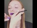 Демонстрация fashion-макияжа в рамках Экспресс-курсе