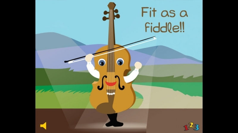 Fit as fiddle