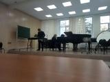 И.С.Бах - Концерт a-moll для скрипки с оркестром, первая часть