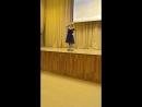 Победа в конкурсе чтецов, открывает концерт, посвященный 9 мая