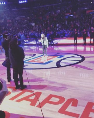 """Gerald Tennison on Instagram: """"thanks for having us @laclippers. @maggielindemann 👏"""""""