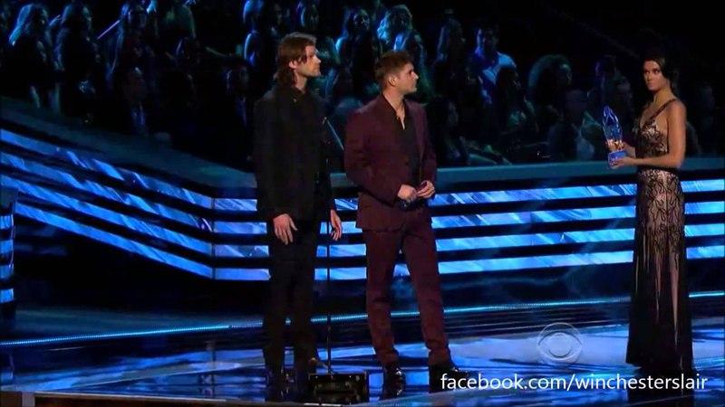 PCA 2013 Only Jensen Ackles and Jared Padalecki