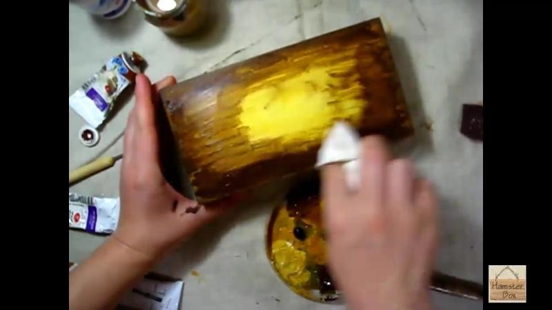 Мастер класс Шкатулки - Купюрницы с объемным декором (барельеф)_HD.mp4