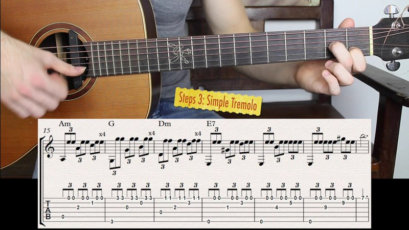 Tremolo Technique on Guitar for Beginners in Three Simple Steps
