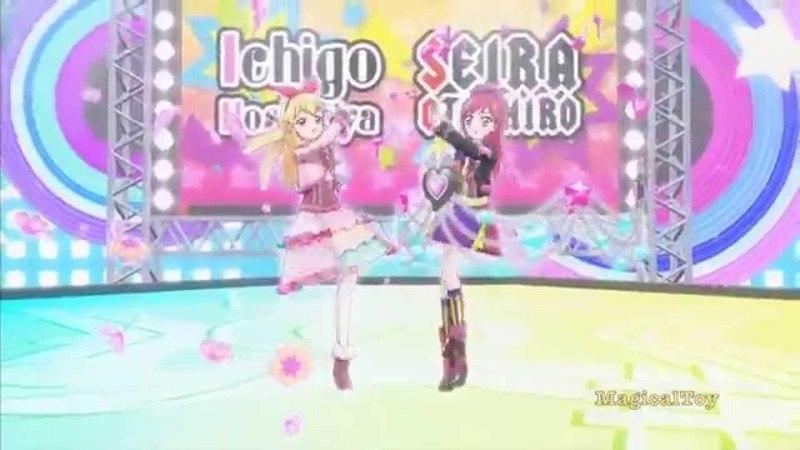 Aikatsu!-Ichigo Hoshimiya Seira Otoshiro- [KIRA☆Power]-Episode 63