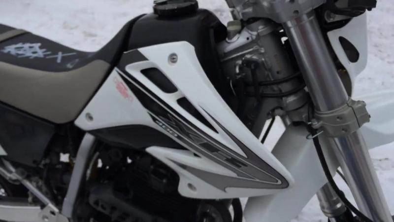 Мотоцикл HONDA XR400 MOTARD 2006