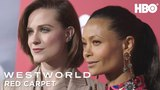 HBO Buzz w Evan Rachel Wood, Thandie Newton, James Marsden &amp the Cast! Westworld