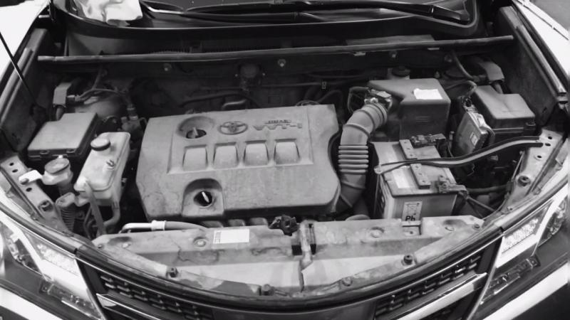 Toyota RAV-4.химчистка и полировка