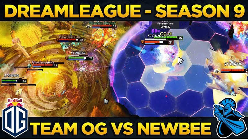 NEWBEE vs OG - TI Winner vs Four-time MAJOR Winner - Dreamleague S9 - Dota 2