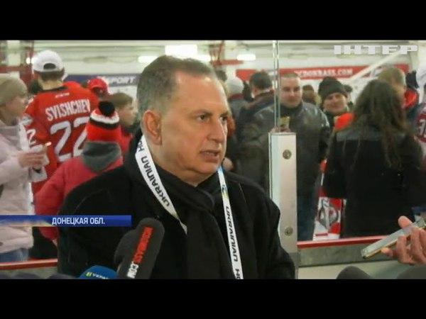 Хоккейный клуб Донбасс стал шестикратным чемпионом Украины