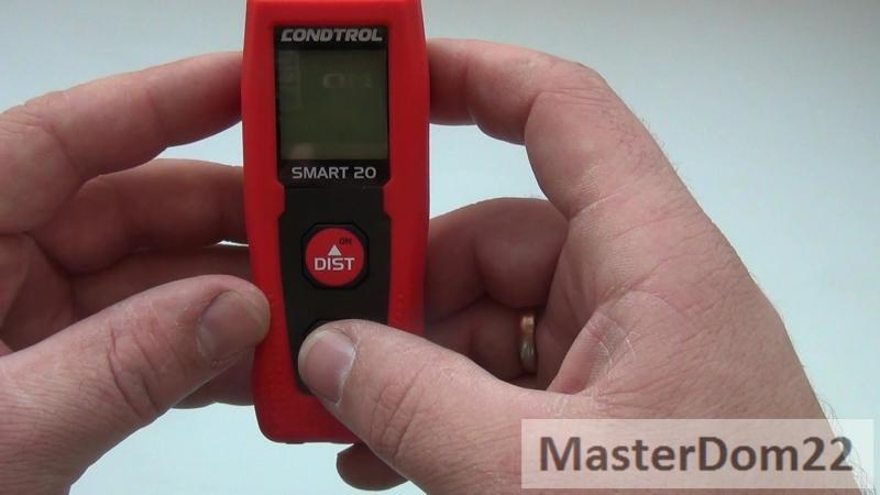 Лазерный дальномер Condtrol Smart 20. Мой обзор.
