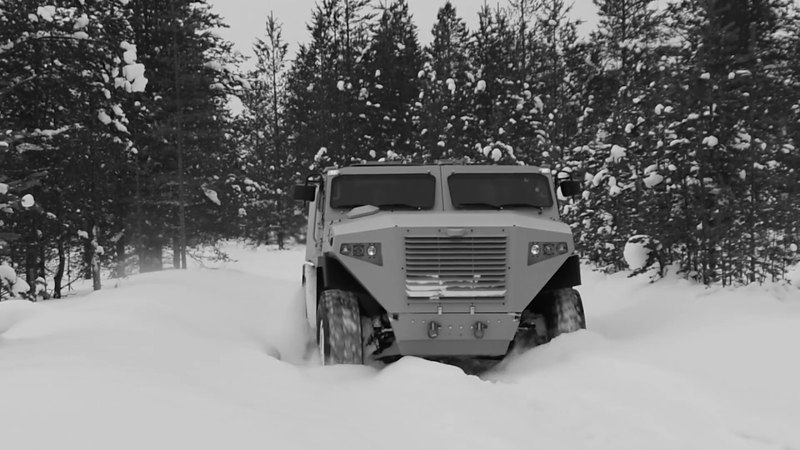 SISU will introduce a brand new armoured vehicle at AUTO 2018 motor show in Riga