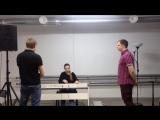 Курс Вокал: распевка группы старшего отделения!
