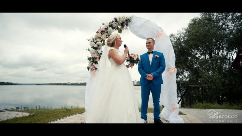 [Свадебный клип] Денис и Юлия. Видеограф оператор видеосъемка свадебное видео выездная регистрация свадьба Липецк