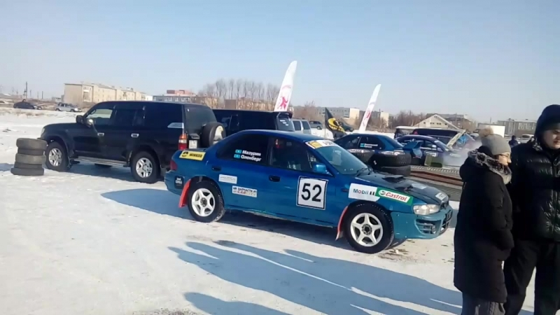 Кубок Казахстана по зимнему ралли-спринту