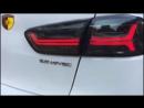 Тюнинг задние фонари оптика на Mitsubishi Lancer 10 в стиле Audi